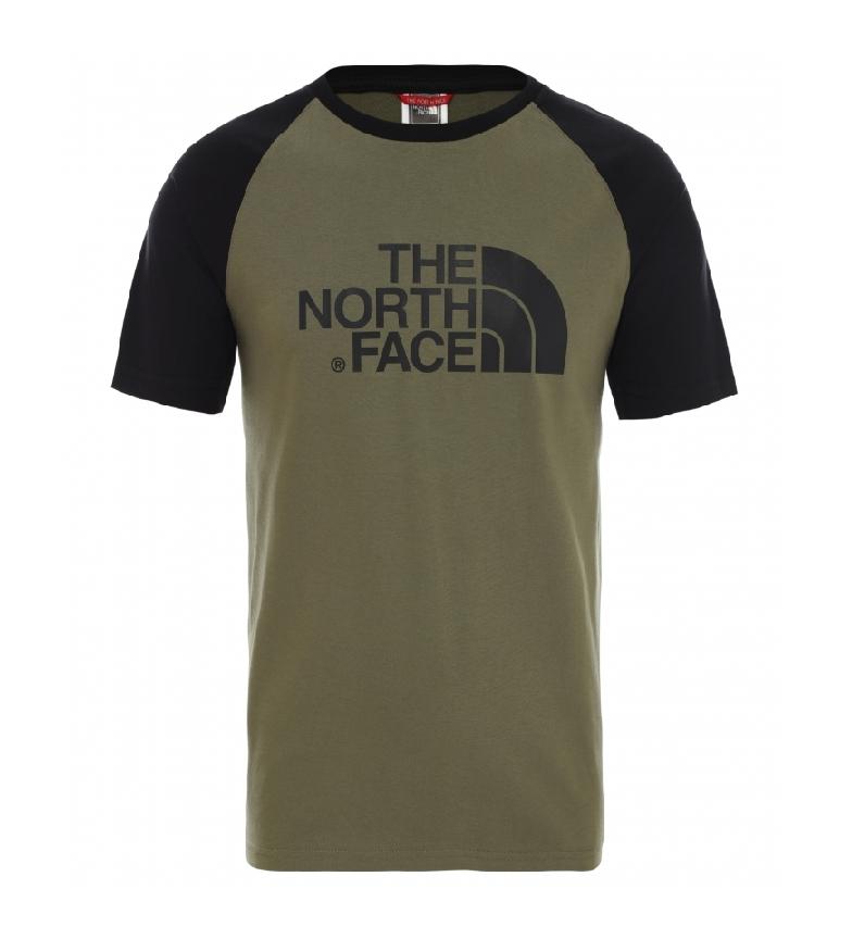 Comprar The North Face T-shirt Raglan verde