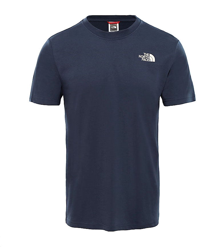 Comprar The North Face T-shirt boîte rouge marine