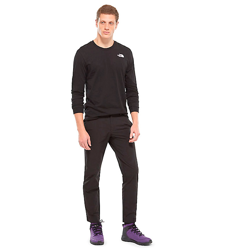 3c00bf504d721 Comprar The North Face Camiseta Simple Dome negro - your online ...