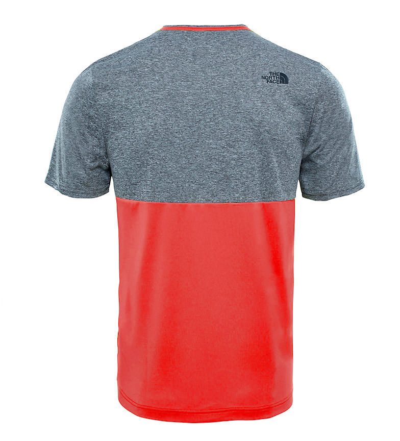 The North Face Camiseta Tansa gris, rojo