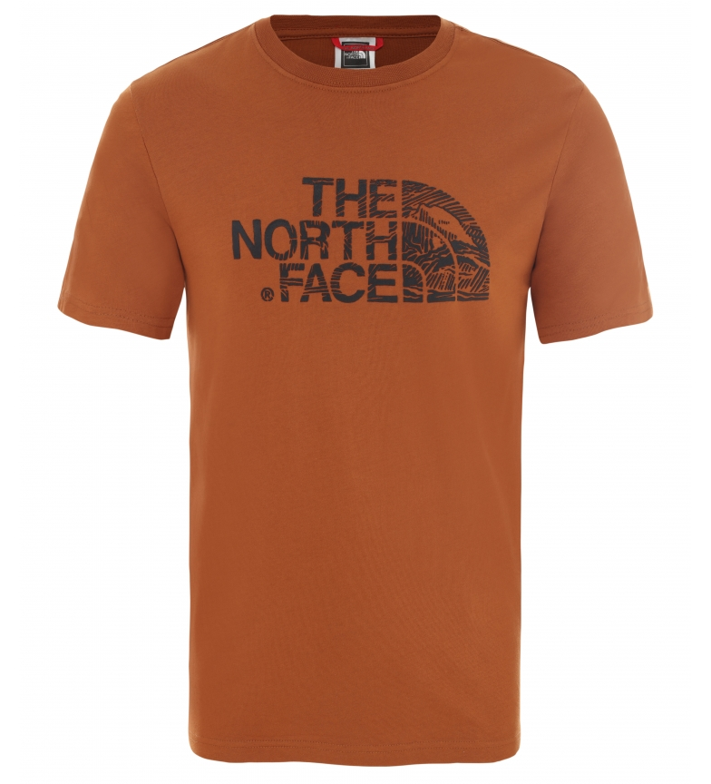 Comprar The North Face Camiseta Woodcut Dome marrón