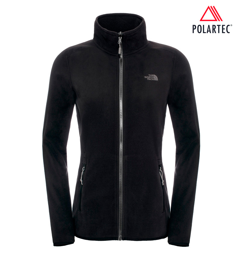 The North Face <b>                 Chaqueta 100 Glacier             </b>              negro -Polartec-