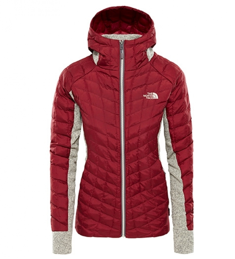 6ed75c36c8a21 ... Chaqueta Gordon Lyons Mujer rojo   Thermoball   PrimaLoft Mujer chica  Deportivo Outdoor Poliéster Manga larga. The North Face