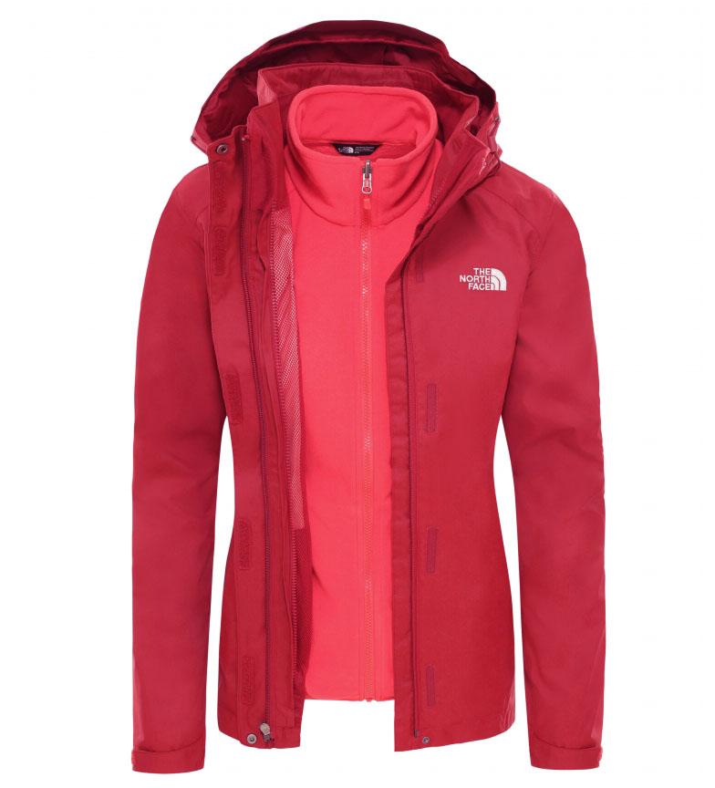 Comprar The North Face Chaqueta Evolve II rojo, coral / Triclimate