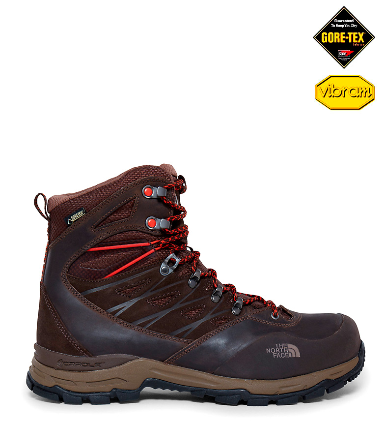 Comprar The North Face Stivali Nobock Hedgehog Trek GTX marrone -Gore-Tex-