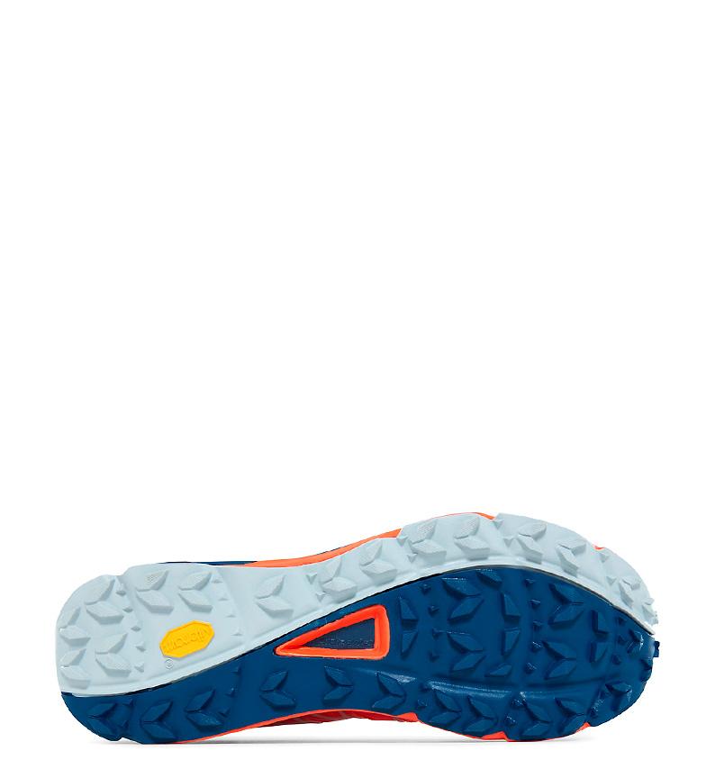 The North Face Zapatillas trail running Ultra Vertical naranja, azul FlashDry