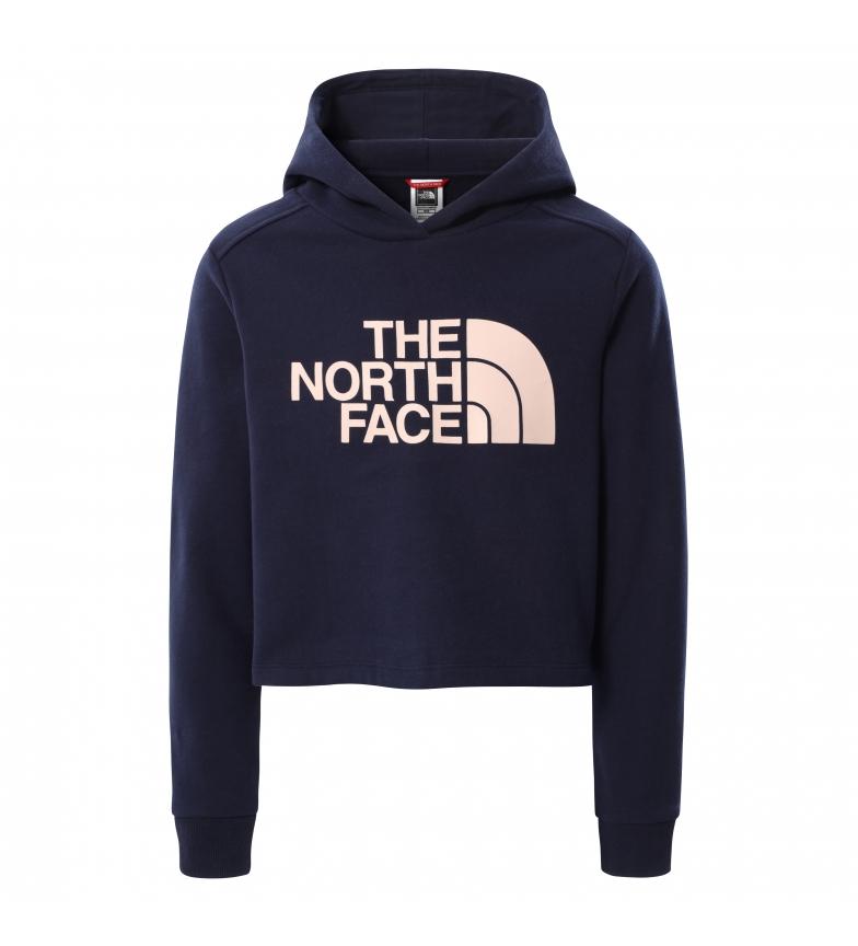 Comprar The North Face Felpa corta blu navy da bambina Drew Peak