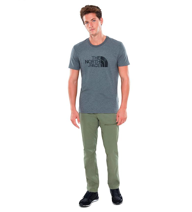 The North Face Camiseta De Algodn Lett Gris rabatt rimelig kjøpe billig nettsteder salg billig ebay salg falske gfCXbmnQy