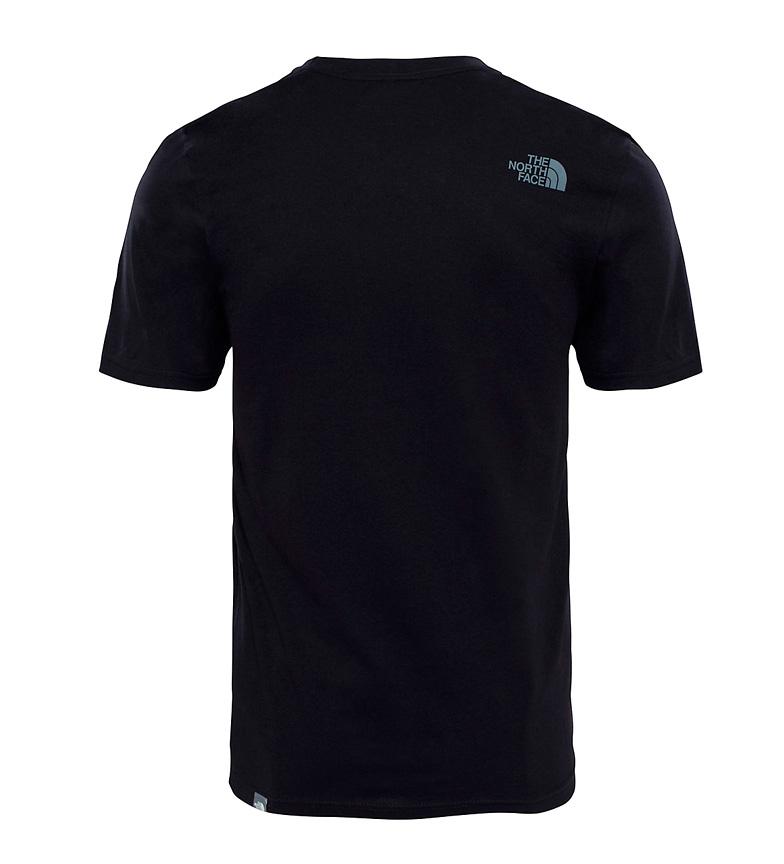 North Easy de Face algod�n The negro Camiseta dSXd4