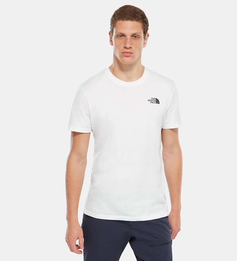 blanco Camiseta Dome North The Simple Face wqYxfWTF