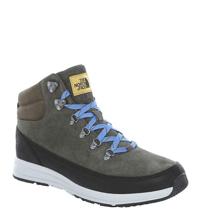 Comprar The North Face M B-TO-B Redux Lux Lux botas de couro cinza / OrthoLite® /