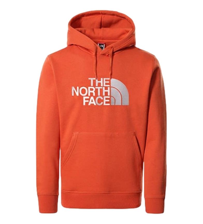 The North Face Sweatshirt Drew Peak PLV HD orange