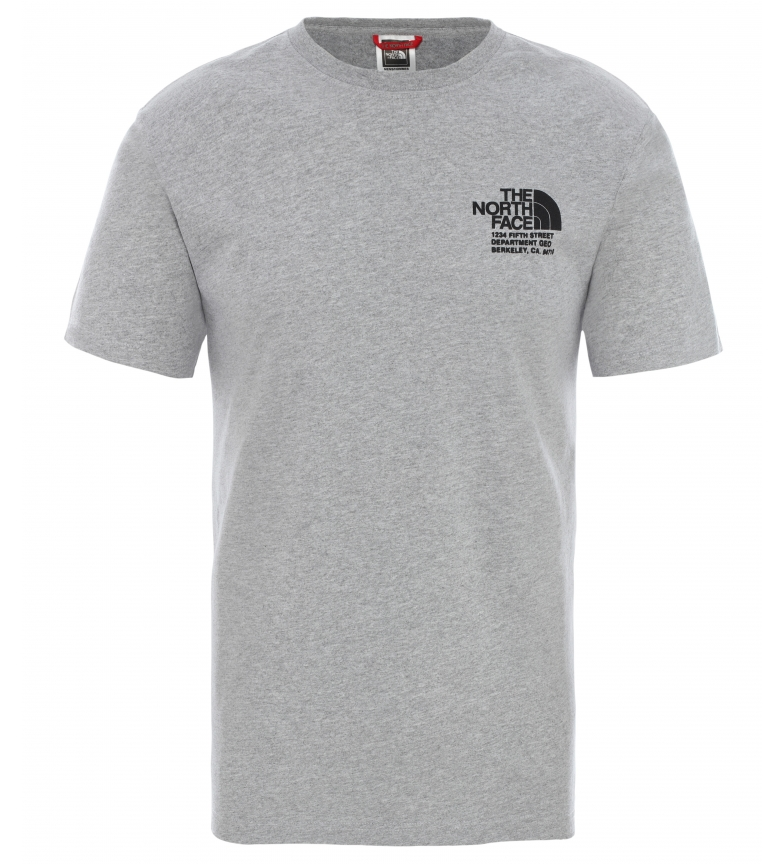 Comprar The North Face T-shirt gráfica cinzenta