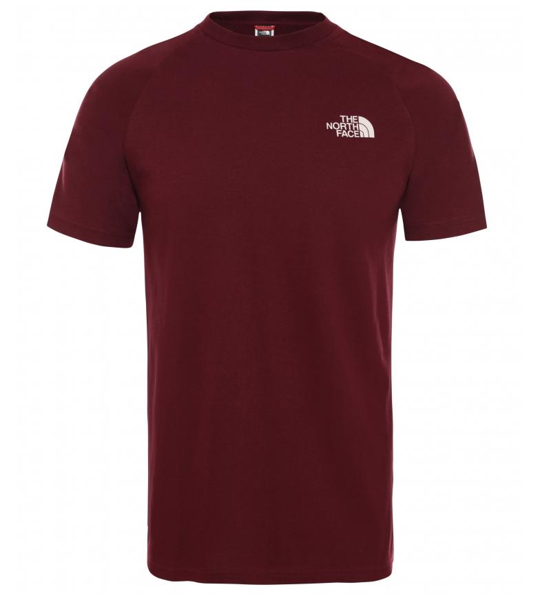 Comprar The North Face T-shirt North Faces Faces Deep Garnet Borgonha