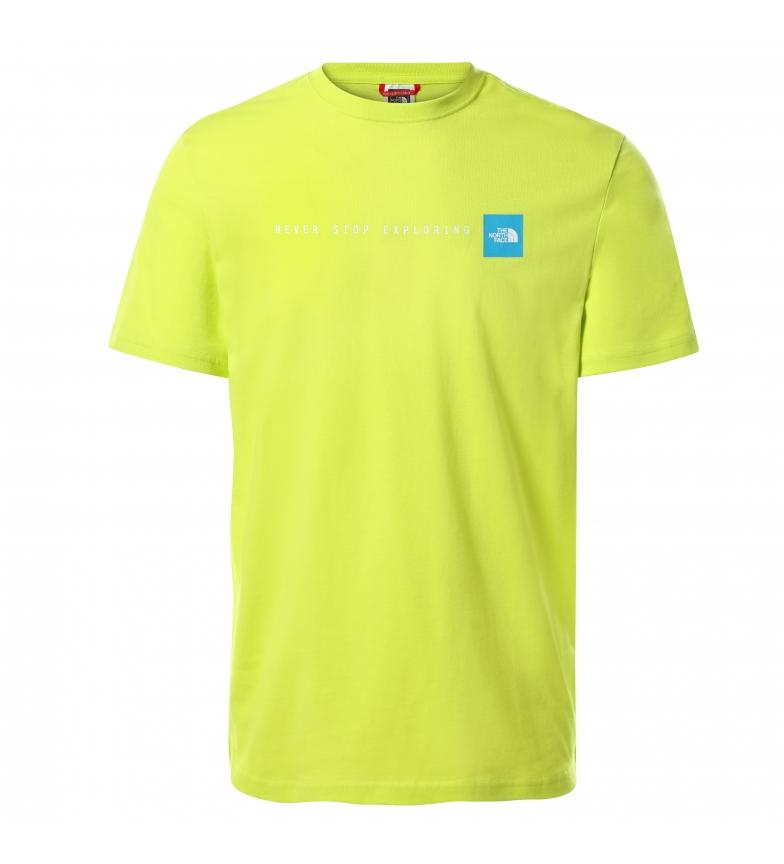 Comprar The North Face Short Sleeve T-Shirt NSE green