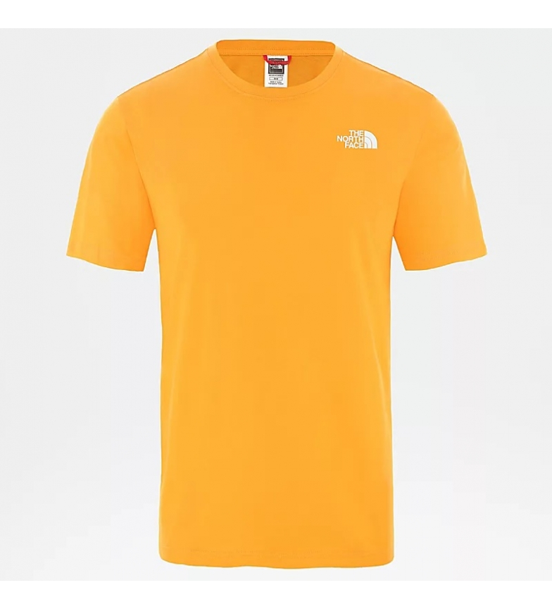 Comprar The North Face T-shirt scatola rossa arancione