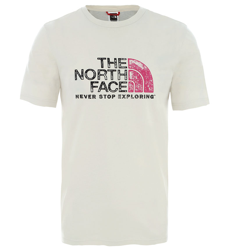 Comprar The North Face T-shirt Rust 2 TEE bianco vintage