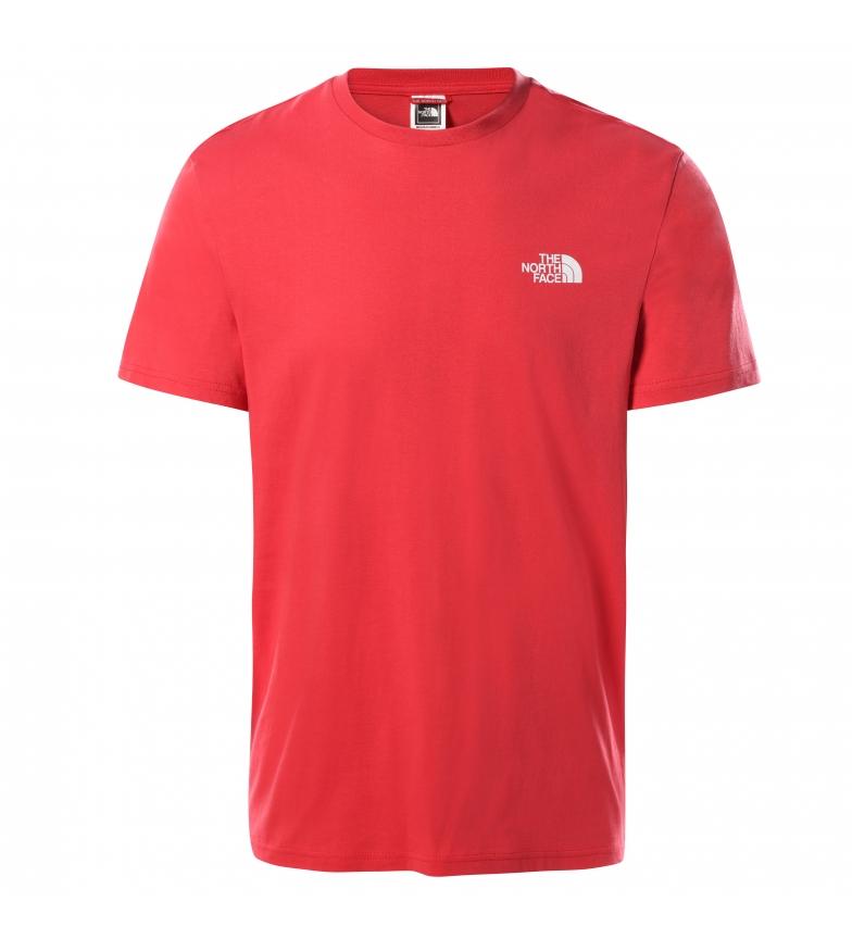 Comprar The North Face Camiseta Simple Dome vermelha
