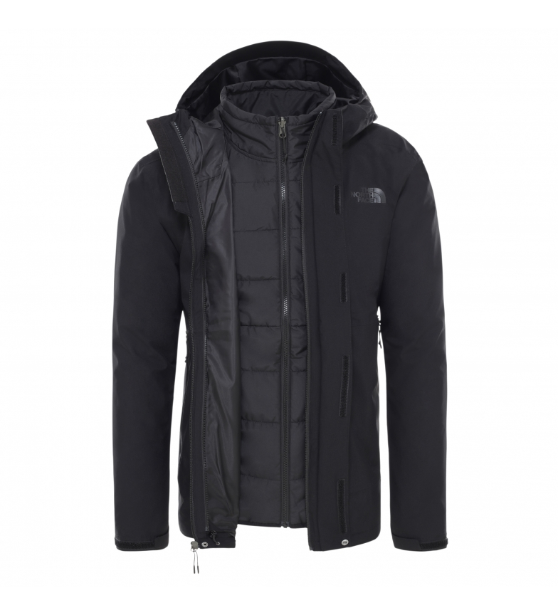 Comprar The North Face Chaqueta Carto Zip-In Triclimae negro