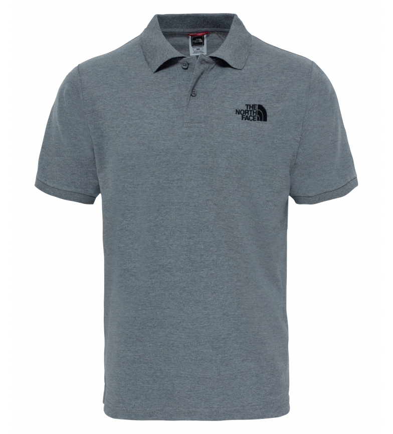 Comprar The North Face Polo de algodón Piquet gris