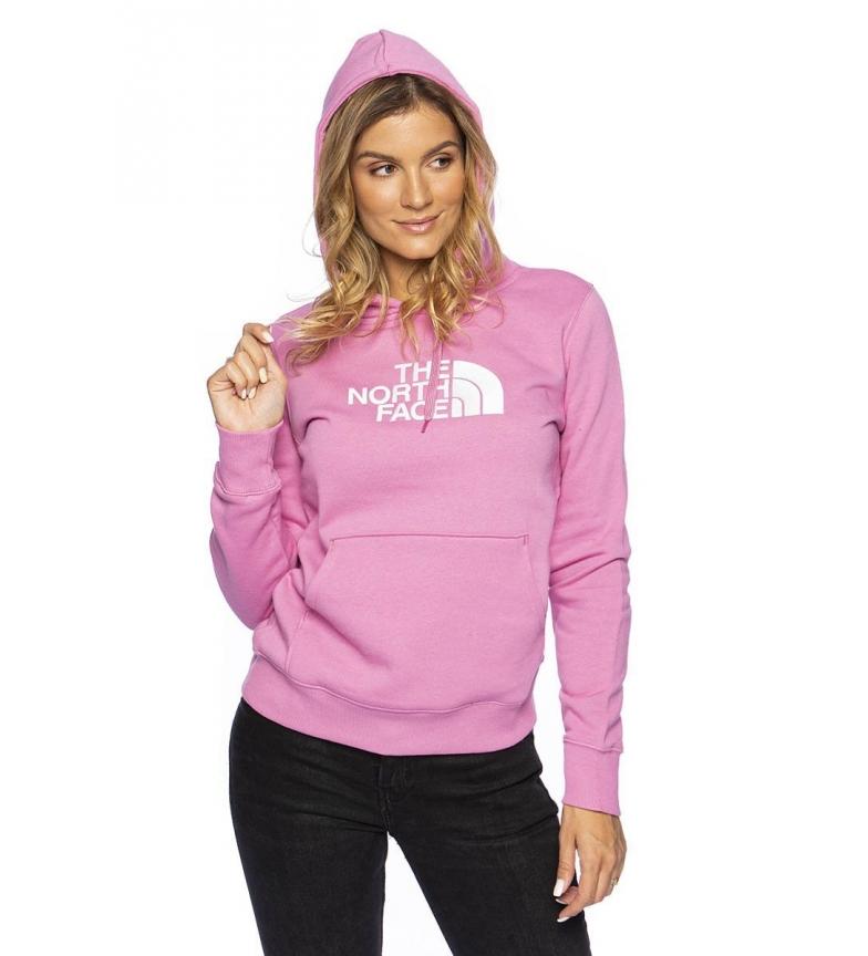The North Face Sweatshirt Crew Peak W pink