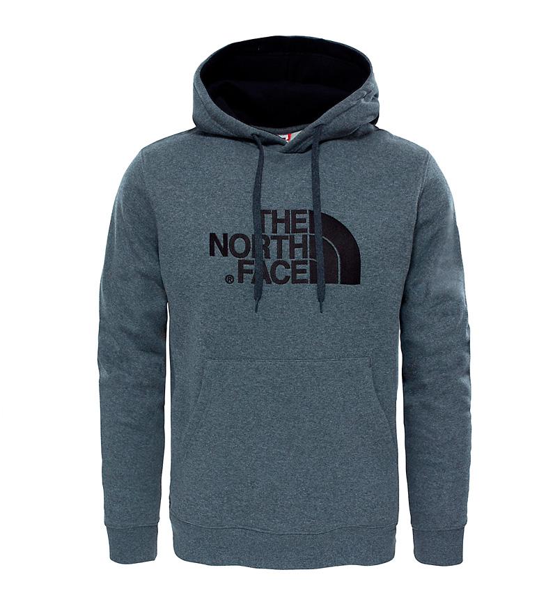 Comprar The North Face Sudadera de algodón Drew Peak  gris, negro