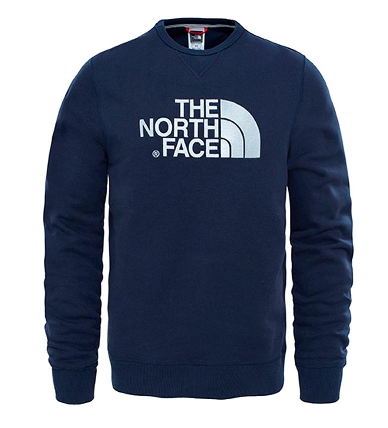 Comprar The North Face Sudadera de algodón Drew Peak marino, gris