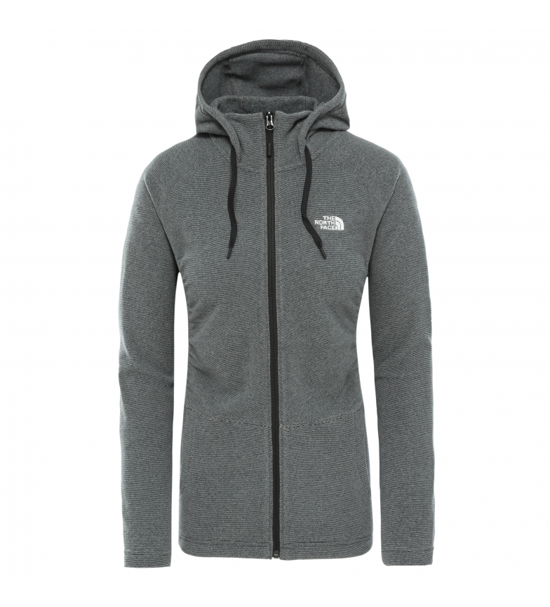 Comprar The North Face Sweat à capuche gris Mezzaluna avec fermeture éclair