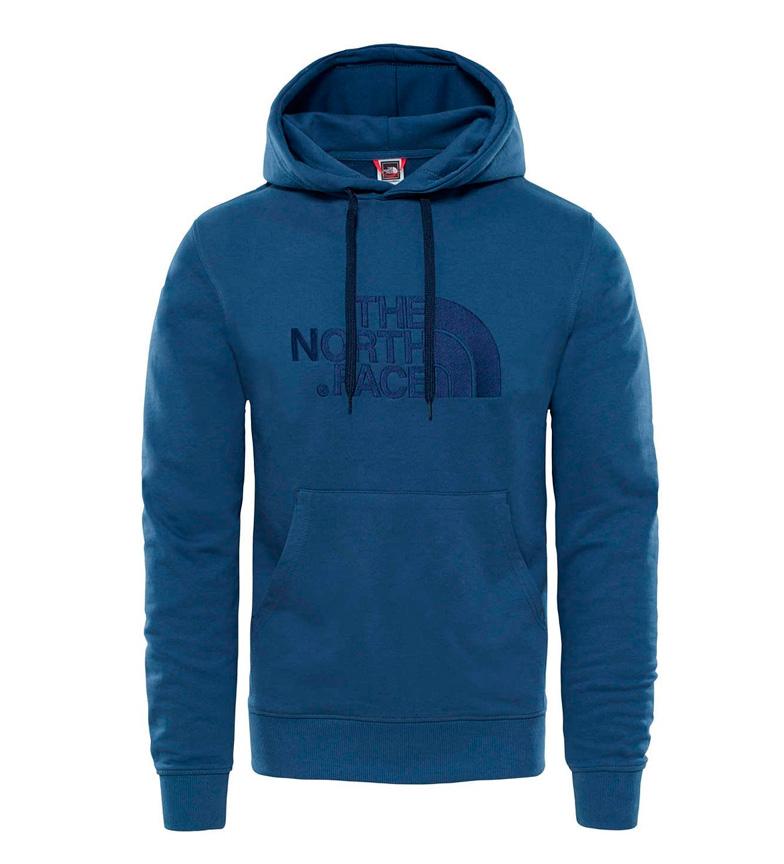 The North Face Sudadera de algod�n Light Drew Peak azul