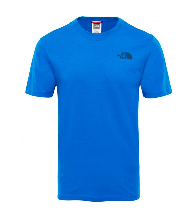 The North Face Camiseta de algod�n Redbox Tee azul