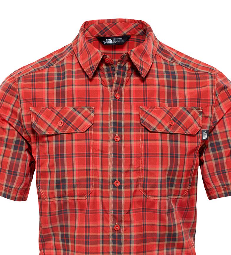 The North Face Camisa Furu Knute Rojo utløp footlocker mållinja rabatt lav pris gratis frakt real ztGLd
