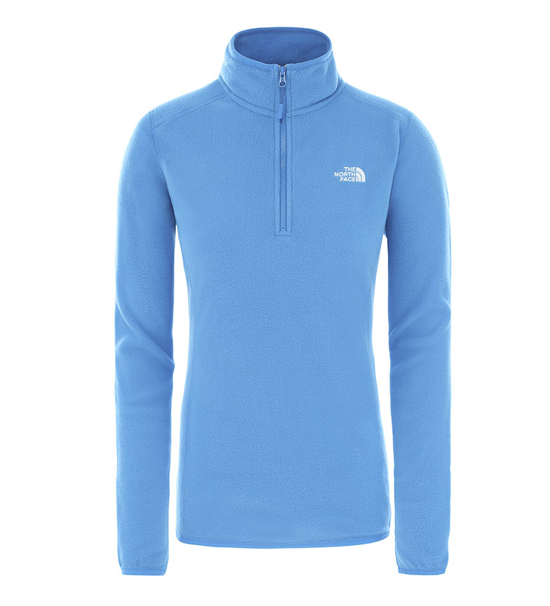 Comprar The North Face Polar W 100 Glacier 1/4 ZI bleu / Polartec® /