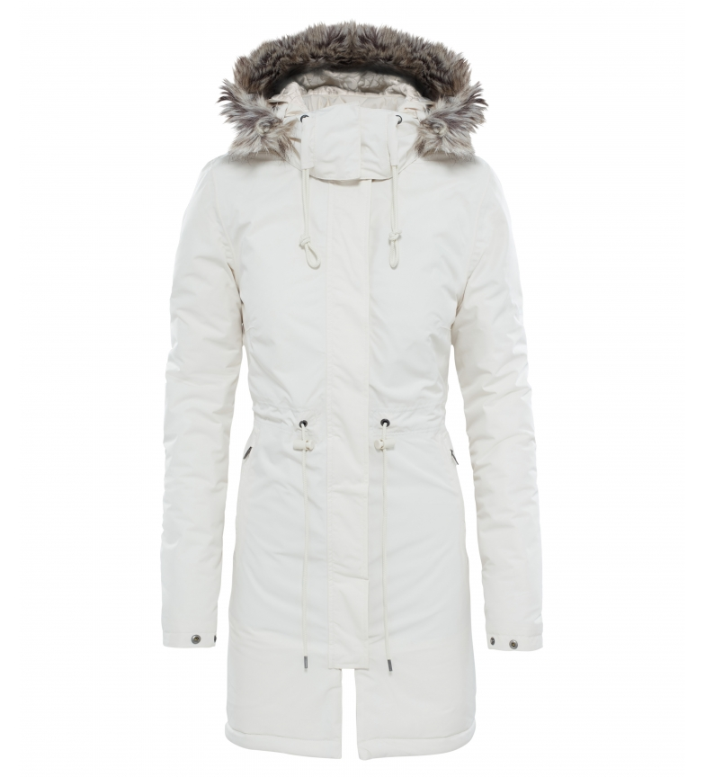 Comprar The North Face Parka Zaneck blanco / DryVent