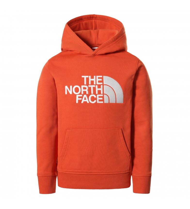 The North Face Felpa arancione Drew Peak