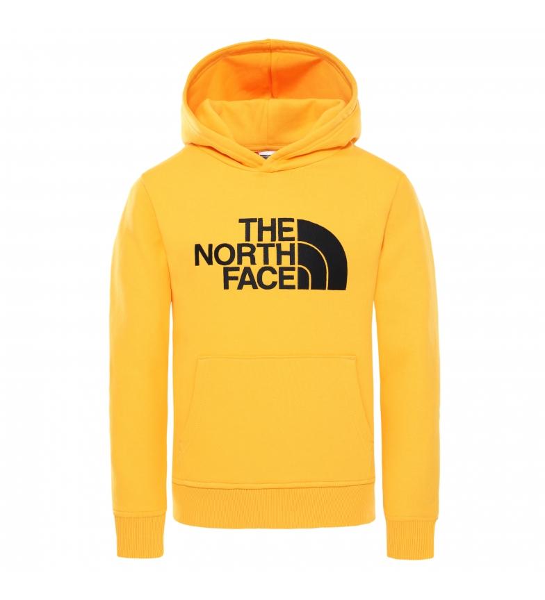 Comprar The North Face Sudadera Drew Peak Junior amarillo