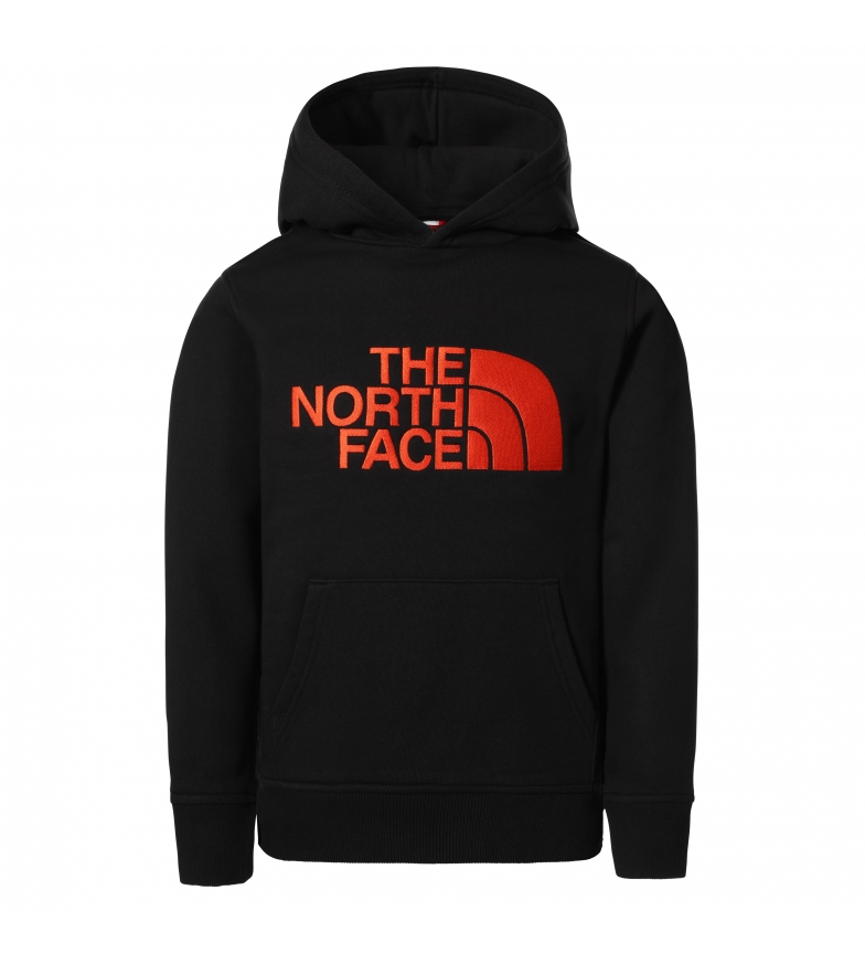 The North Face Sweat-shirt Drew Peak noir, rouge