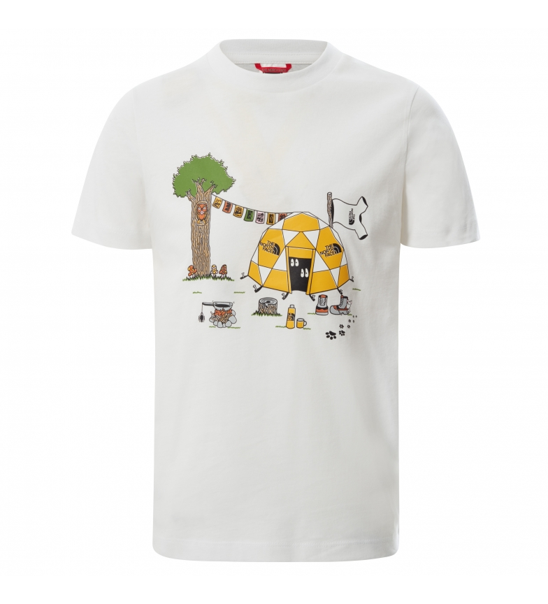 Comprar The North Face Graphic T-shirt white