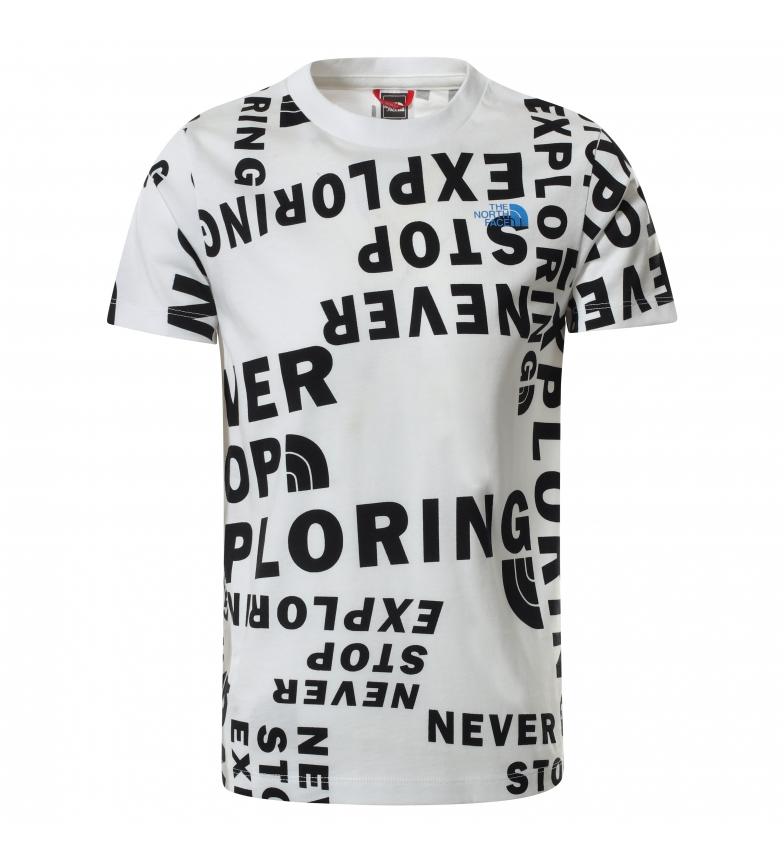 The North Face T-shirt manica corta Simple Dome bianco, nero