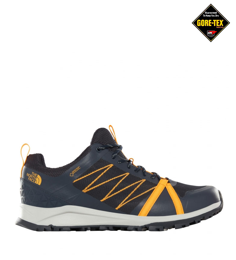 Comprar The North Face Litewave Fastpack II chaussures de randonnée marine, orange / Gore-Tex