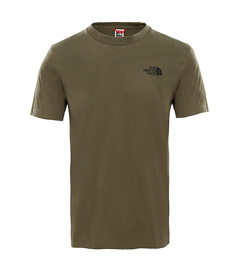 Comprar The North Face T-shirt verde simples da abóbada