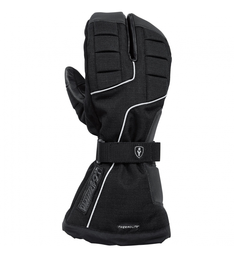 Comprar Thermoboy Guanto Thermoboy invernale touring in pelle / tessuto 3.0 nero