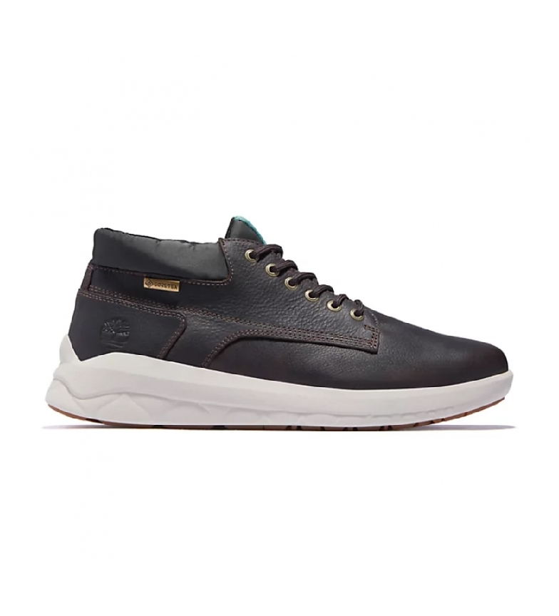 Timberland Bradstreet Ultra Chukka Gore-Tex black leather boots