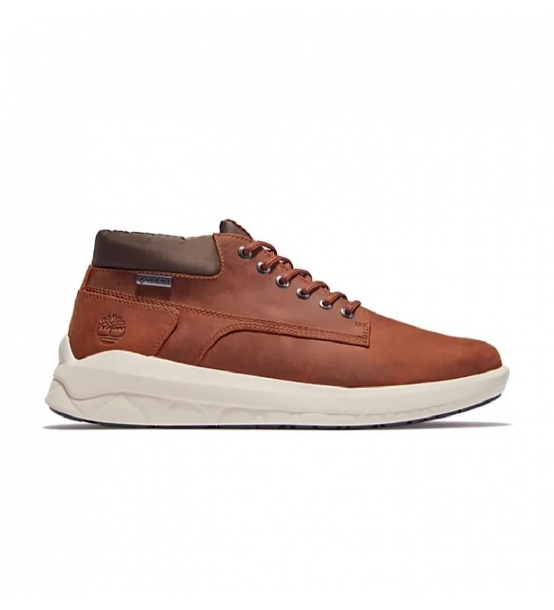 Timberland Bradstreet Ultra Chukka Gore-Tex brown leather boots