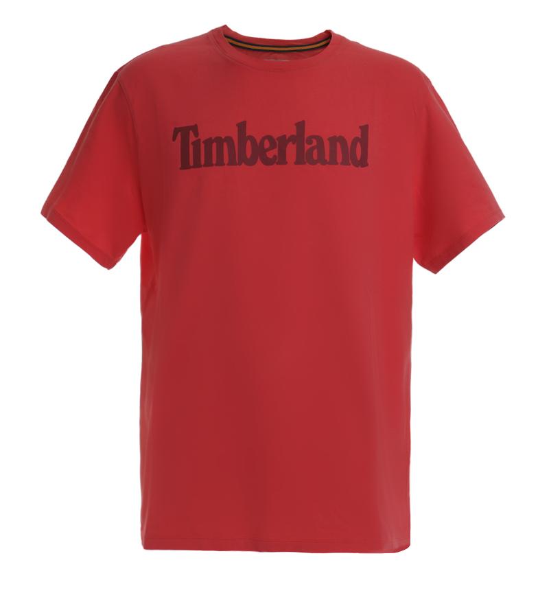 Comprar Timberland Maglietta rossa KR Brand Linear T