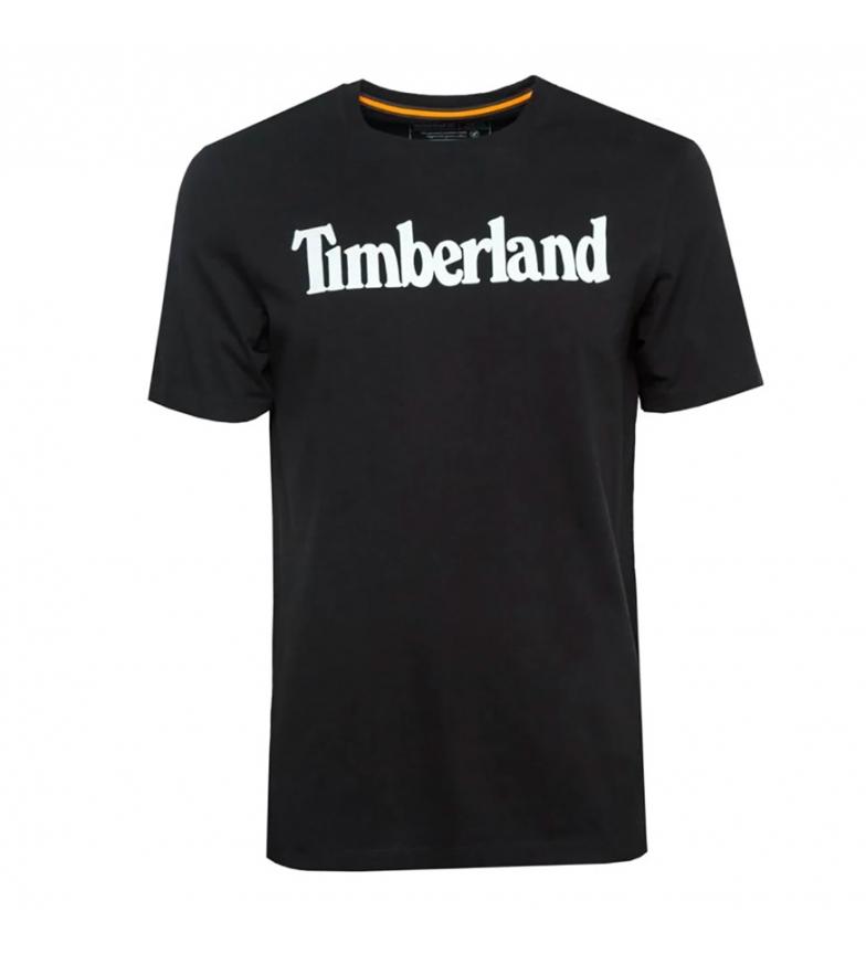 Timberland T-shirt linéaire de la marque Kennebec River noir