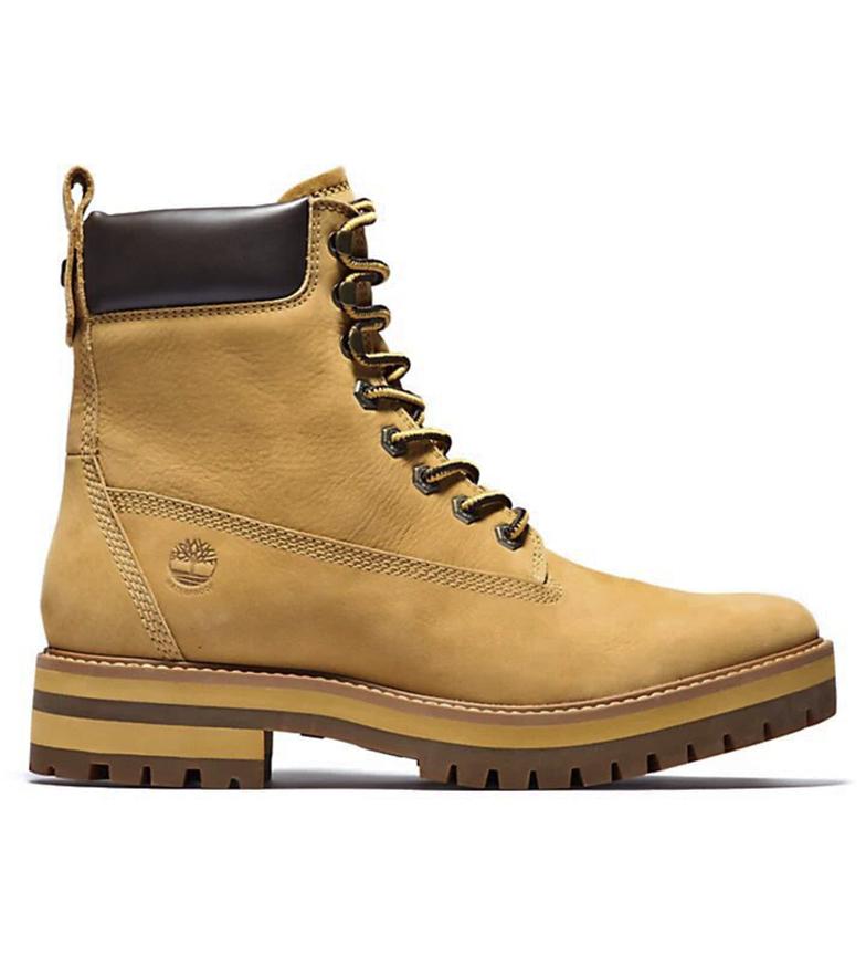 Comprar Timberland Bottes en cuir Courma Guy Boot WP jaune