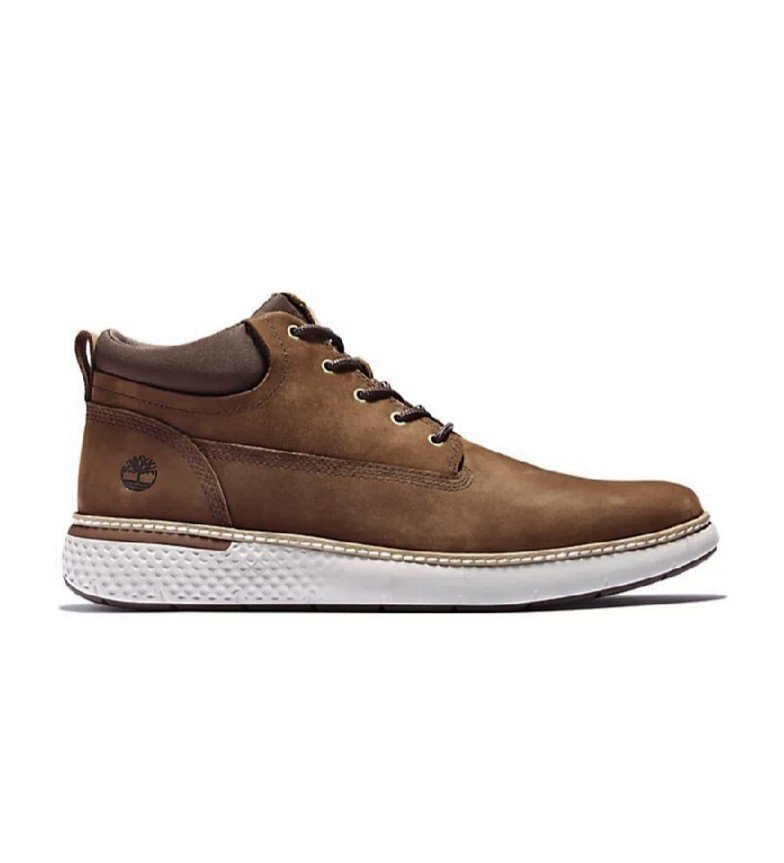 Comprar Timberland Stivali Cross Mark PT Chukka in pelle marrone