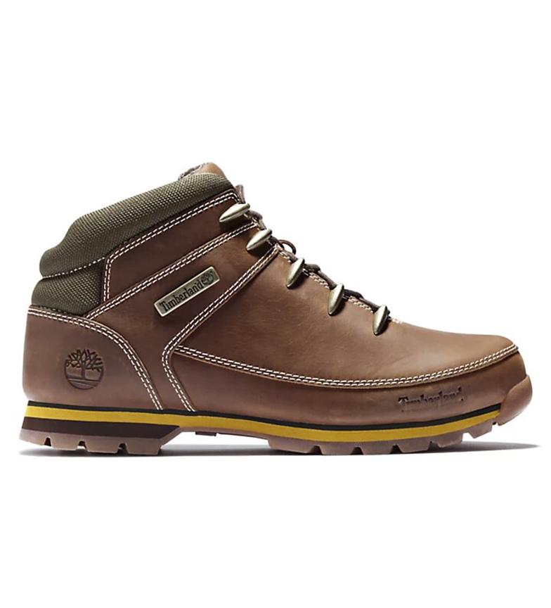Comprar Timberland Botas de piel Euro Sprint marrón