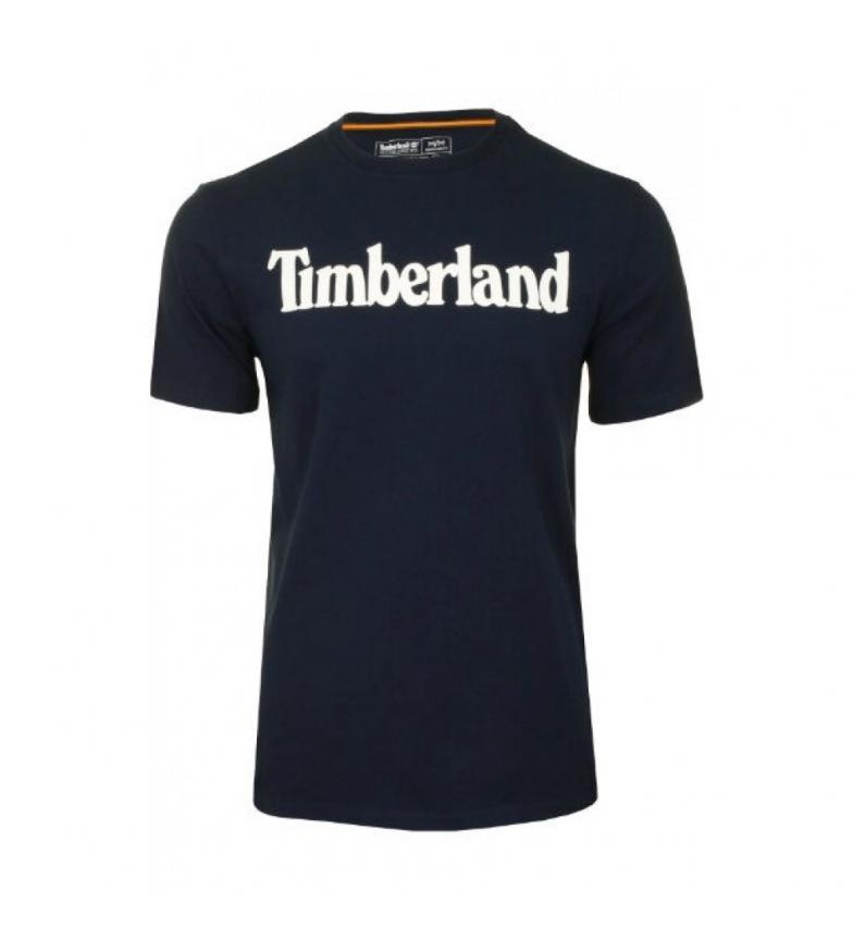 Timberland Camiseta Kennebec River Brand Linear marino