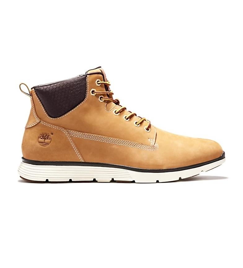 Timberland Killington Chukka Yellow Leather Boots / SensorFlex